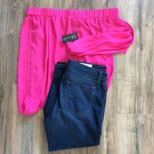 EUC Pistola Cropped Skinny Jeans Size 31
